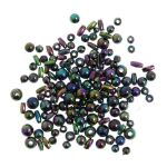 CC05 Creative Crafts Rainbow Beads: 5 Packs of 5